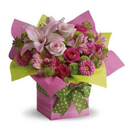 Pretty Pink Present OM