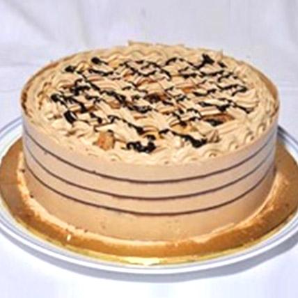 Delicious Coffee Crunch Cake