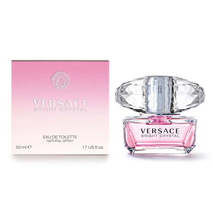 Versace Bright Crystal Edt For Women 50Ml