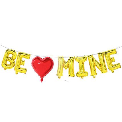 Be Mine Balloon Set