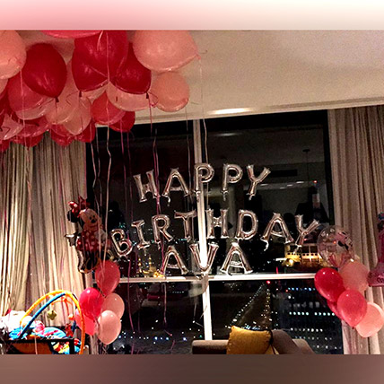 Birthday Balloon Surprise