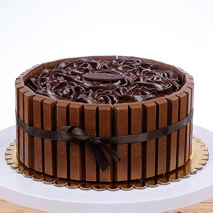 Kitkat Chocolate Cake