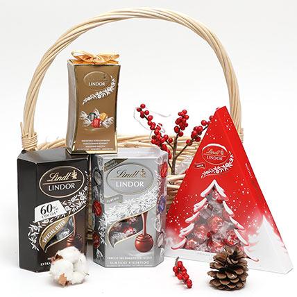 Xmas Chocolate Basket