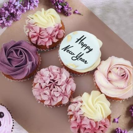 Yummy New Year Cupcakes