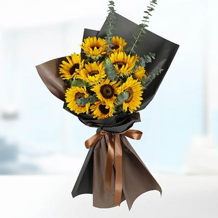 10 Stems Sunflower Bouquet