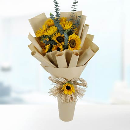 10 Sunflowers Bouquet