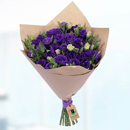 30 Stems Purple Lisianthus Bouquet