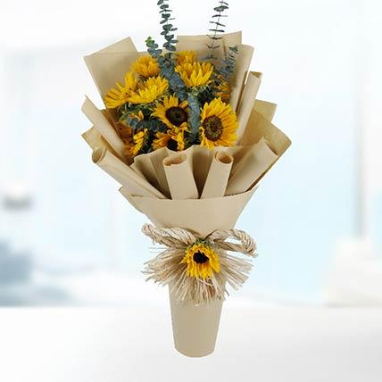 30 Sunflowers Bouquet