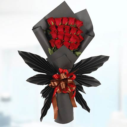 60 Red Roses Butterfly Bouquet