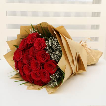 Bewitching 20 Stems Red Roses