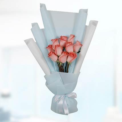 Bouquet Of 20 Orange Roses