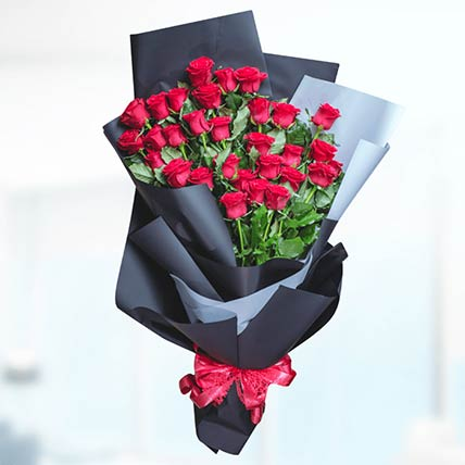 Bouquet Of 30 Stems Red Roses