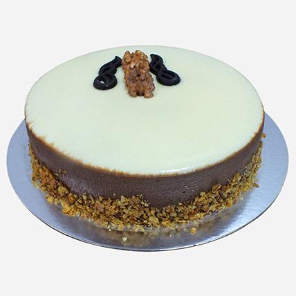 Beautiful Choco Walnut Cake