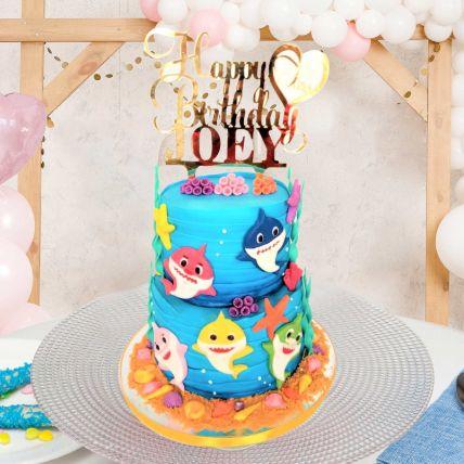 Baby Shark Chocolate Cake 5 Kgs