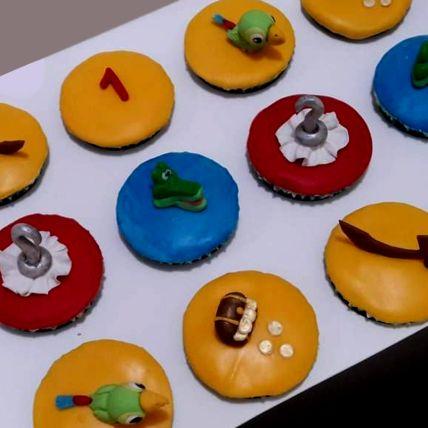 Jake And Neverland Lemon Cupcakes