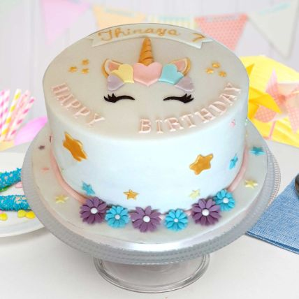 Pretty Unicorn Chocolate Cake 2.5 Kgs