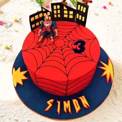 Spiderman Chocolate Cake 3.5 Kgs