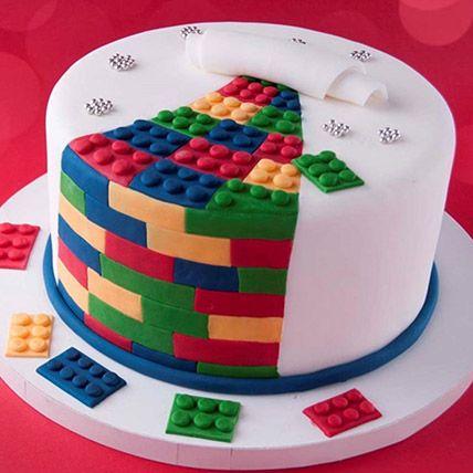 The Lego Blocks Vanilla Cake 3 Kgs