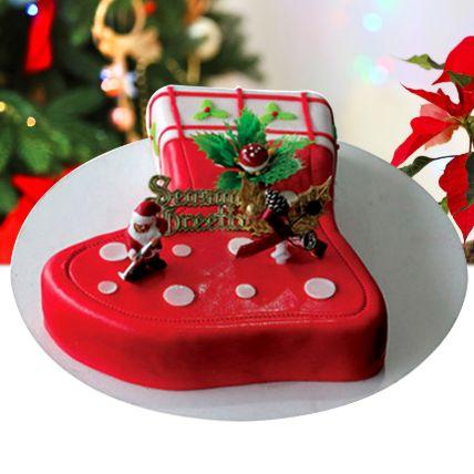 Season's Treat Christmas Chocolate Cake 3 Kgs