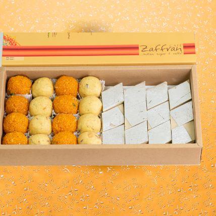 Assorted Laddoo & Kaju Katli Box 1 Kg