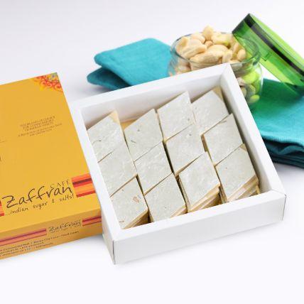 Rich Kaju Katli Sweets Box Half Kg