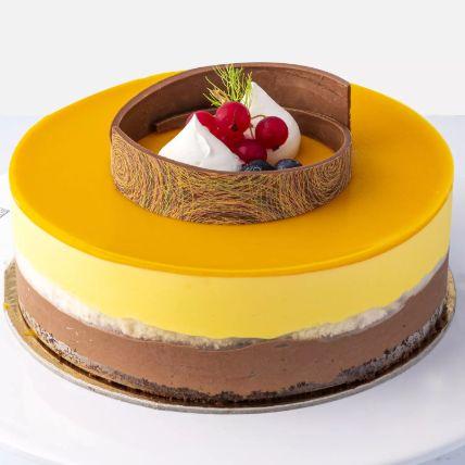 Mango Cake 12 Portions