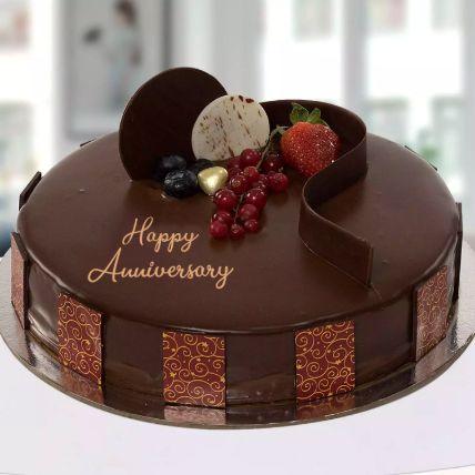 Anniversary Chocolate Cake 1 Kg