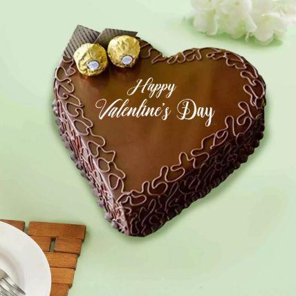 Lovely Heart Choco Cake