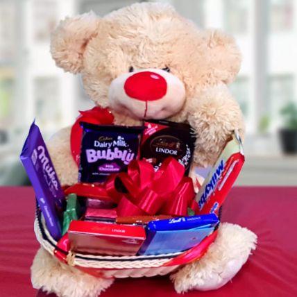 Teddy The Chocolate Man Gift Hamper