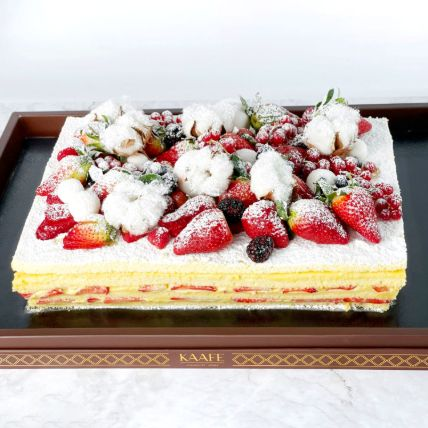Strawberry Cotton Cake