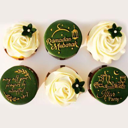 Ramadan Chocolate Cupcakes