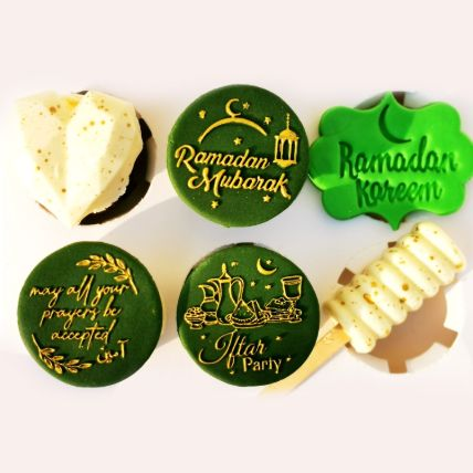 Ramadan Theme Chocolate Vanilla And Cakesicle