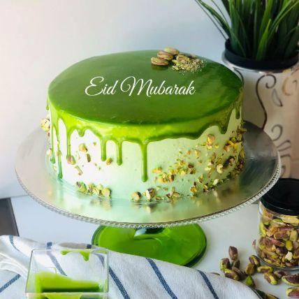 Eid Mubarak Pistachio Cake Half Kg