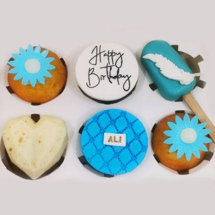Birthday Special Orange Cupcakes and Cakesicles