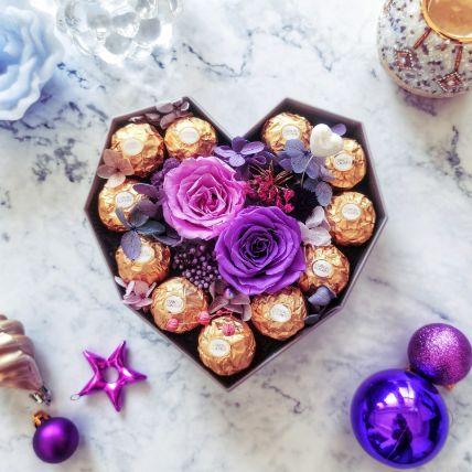 Chocolaty Heart Box