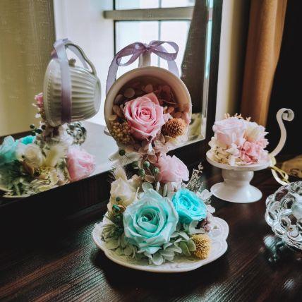 Eternal Flower Pouring Tea Cup