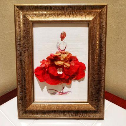 Flower Frame Art
