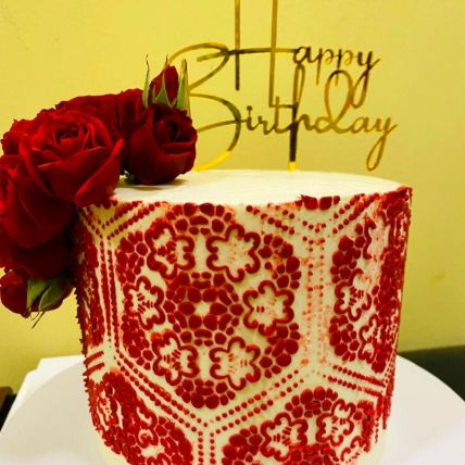 Birthday Celebration Chocolate Cake