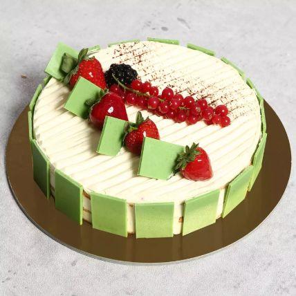 Eggless Creamy Vanilla Cake