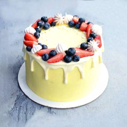 Eggless Pleasing Mix Berry Vanilla Cake