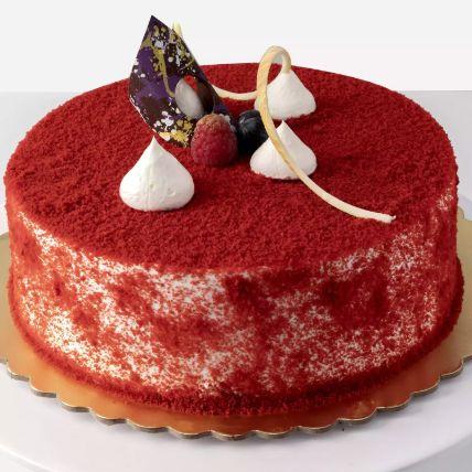 Eggless Red Velvety Cake