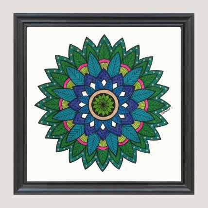 Green Art Frame