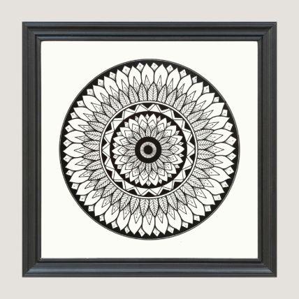 Trendy Black Art Frame