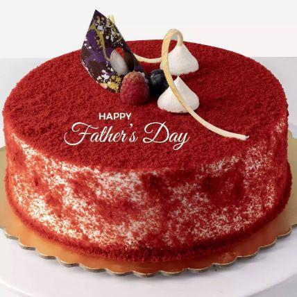 Red Velvet Cake For Father Half Kg