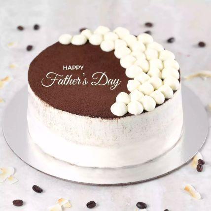 Fathers Day Tiramisu Cake Half Kg