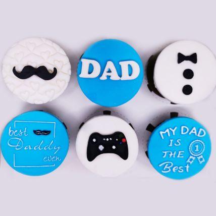 Orange Cupcakes For Dad