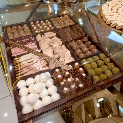 Chocolate Nuts Trays
