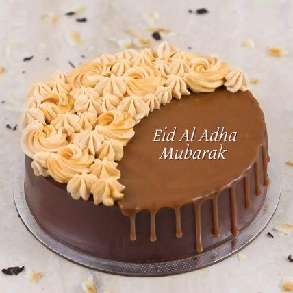 Chocolate Caramel Cake For Eid Al Adha Half Kg