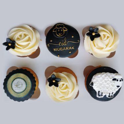 Eid Al Adha Orange Cupcakes