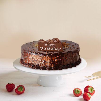 Birthday Rocher Cake 1.5 Kg